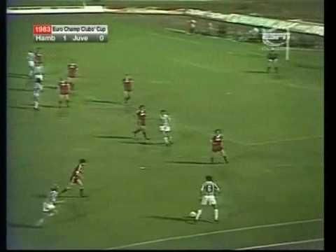 Liga dos Campeões 1982/1983 - Hamburgo 1x0 Juventus