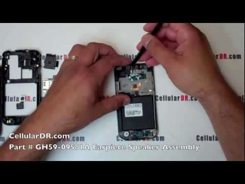 Samsung SGH-T959 Repair Video Tmobile Vibrant Disassembly Take Apart