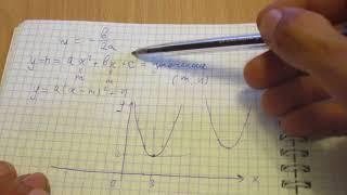 П.7 Построение графика квадратичной функции - Алгебра 9 класс Макарычев