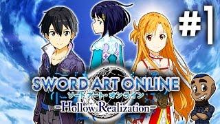 LINK START!   Sword Art Online: Hollow Realization   Part 1   SAO Gameplay Walkthrough [PS4 PS Vita]