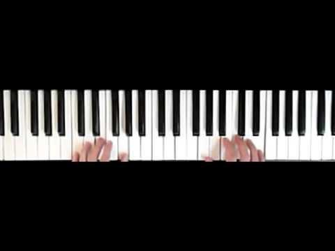 My Bonnie lies over the ocean - piano