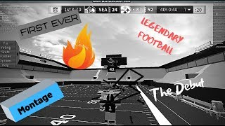 "My First Ever ROBLOX Legendary Football Montage ""The Debut"""