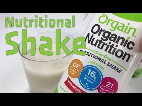 Orgain Organic Nutrition Strawberries & Cream Flavor Shake Review