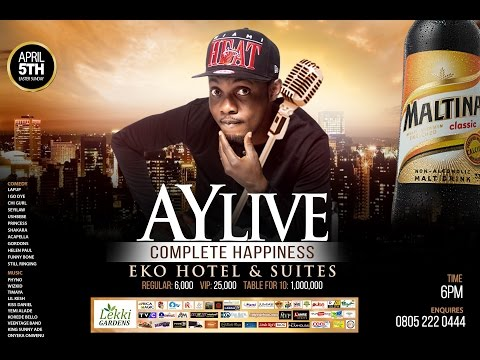 AY LIVE ON EASTER SUNDAY LAGOS 2015