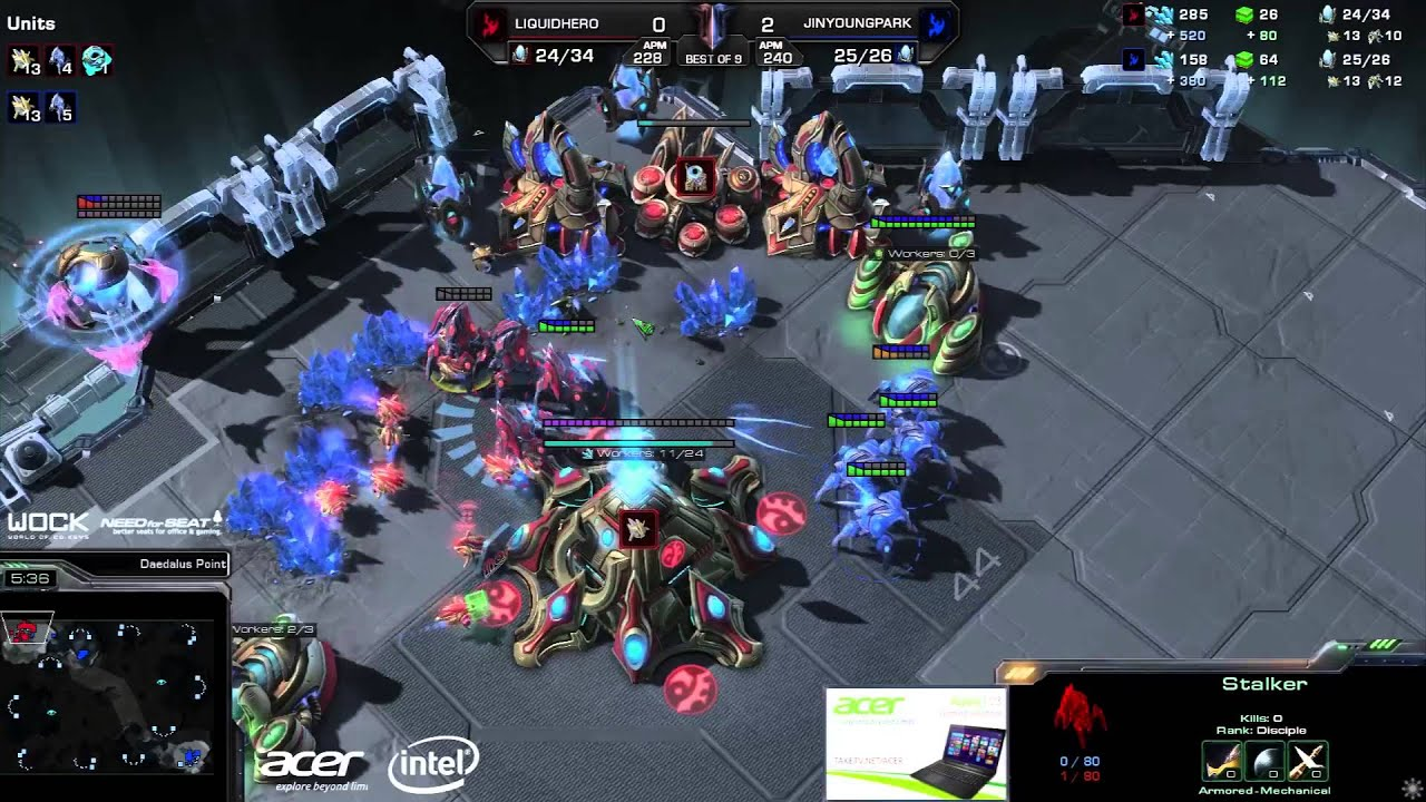 JYP vs. HerO #1 (ATC) - EG vs. TL - Game 3 - StarCraft 2