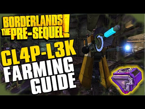 Repeat Borderlands The Pre-Sequel CL4P-L3K Complete Farming