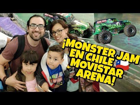 MONSTER JAM EN CHILE 🇨🇱, MOVISTAR ARENA, SANTIAGO DE CHILE 🇨🇱