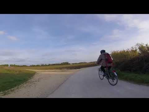 La piste entre la Michelière (St Denis) et La Brée
