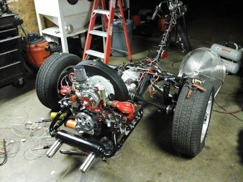 rb-vw trike #90: wiring 101, coil, alternator, electric choke and idle  solenoid
