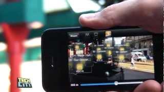 BikeMi con iATM: App con Augmented Reality visibile nel cielo di Milano. Obiettivo 4000 bici gialle