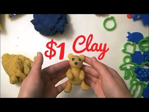 DOLLAR STORE CLAY | Will It Work?