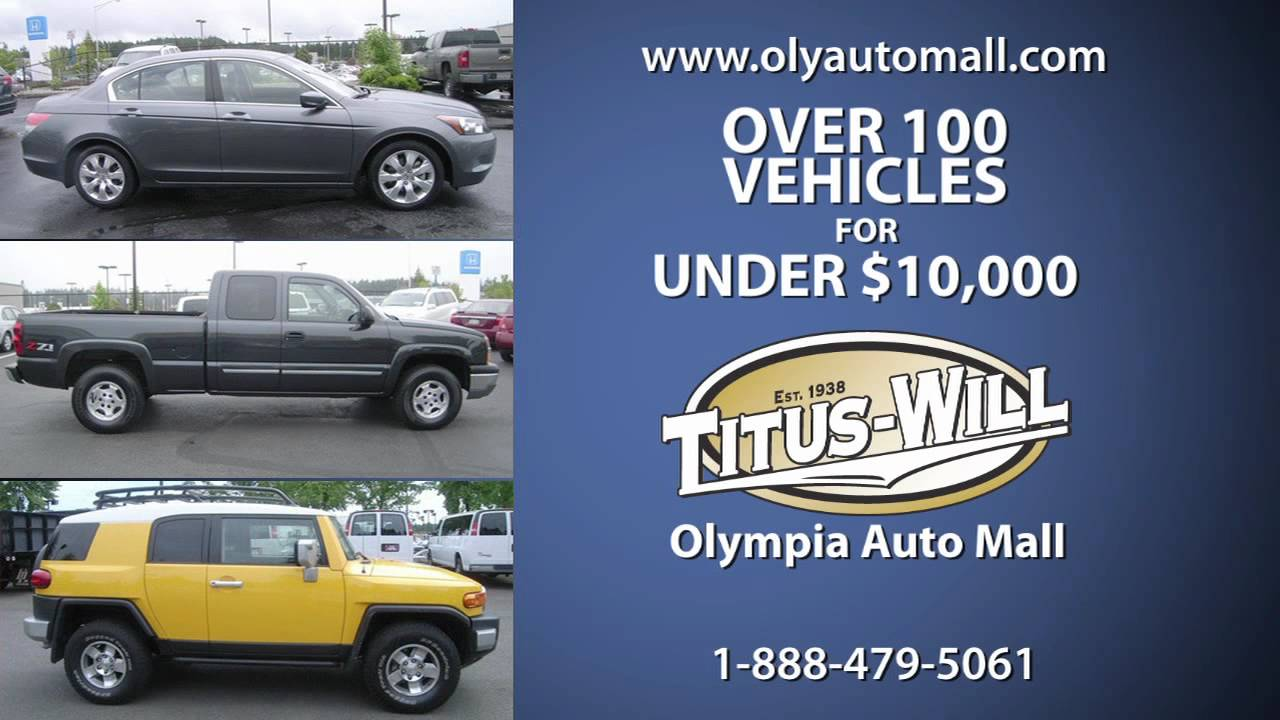 Olympia Auto Mall >> Olympia Auto Mall TV Ad Commercial, Washington's Largest Selection of New & Used Cars - YouTube