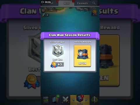 Opening clan war cest