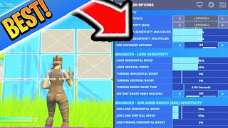 NEW Linear SETTINGS ARE OP! BEST Fortnite Sensitivity/Settings for PS4/XBOX (Fortnite BEST Settings)