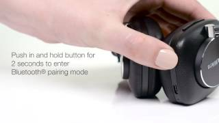 Bowers & Wilkins Wireless Headphones Bluetooth® pairing instructions