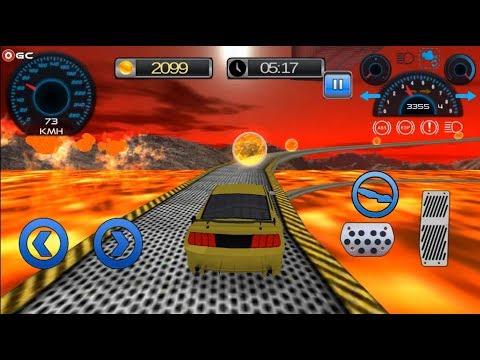 Impossible Stunt Car Racing Game Tracks / Stunt Car Driving Simulator Android Gameplay #2