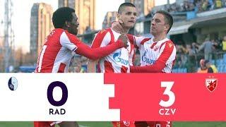 SUPERLIGA: Rad - Crvena zvezda 0:3 | Pregled utakmice