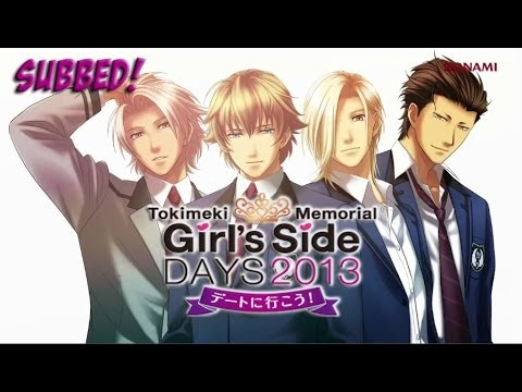 Tokimeki Memorial Girl S Side Days Subbed Youtube