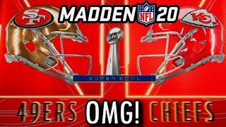 Super Bowl 54, but its decided by Madden