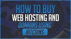 How To Buy Web Hosting And Domains Using Bitcoin (Coinbase)