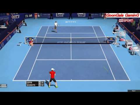 David Goffin - Marcos Baghdatis 1st Round  | Swiss Indoors Basel 2016 TE 2013 Simulation
