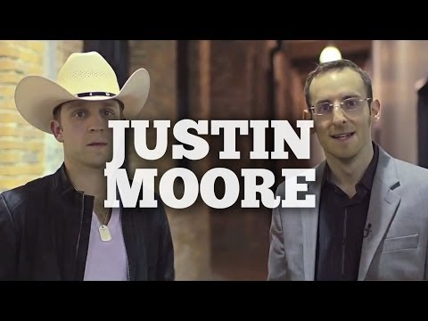 Justin Moore Talks About Meeting His Wife