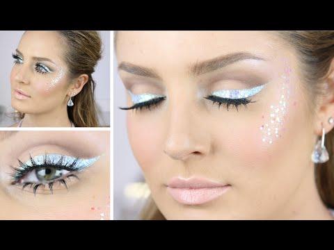Glitter & ice butterfly fairy makeup tutorial (halloween) youtube.
