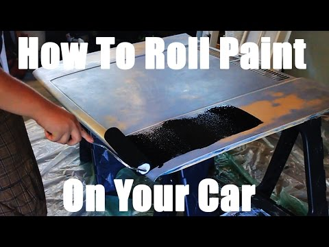 How To Paint Your Car With A Roller