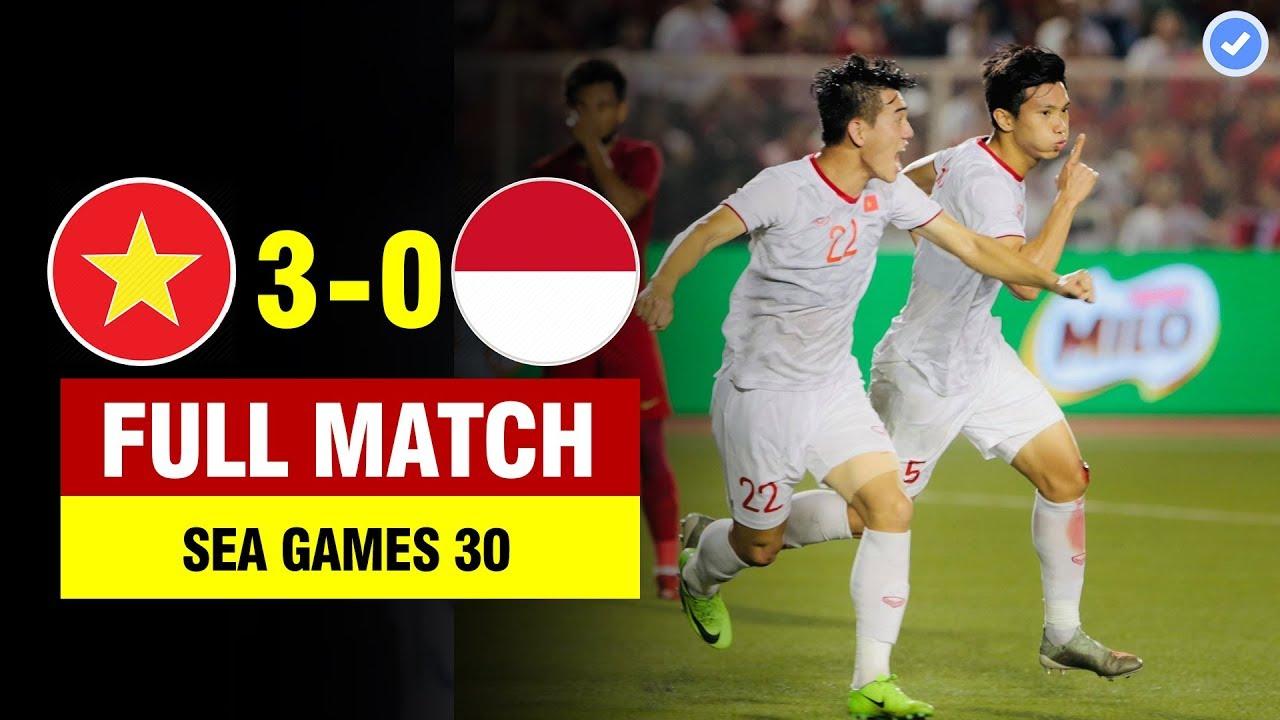 FULL | VIỆT NAM vs INDONESIA | CHUNG KẾT SEA GAMES 30 | BẢN ĐẸP