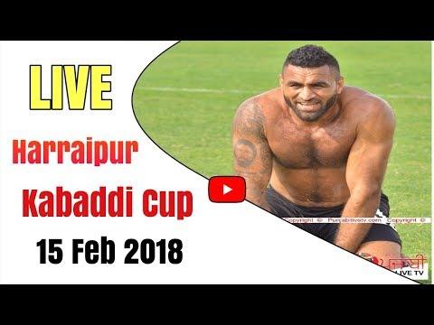 { Live } Raipur Rasolpur ( Jalandhar ) Kabaddi Cup 15 Feb 2018