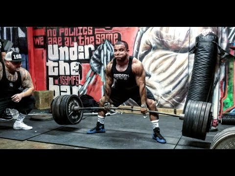 STRONGEST POUND FOR POUND PITBULL IN THE WORLD | 700LB DEADLIFT FOR REPS AT 180 | CT FLETCHERS IAG