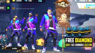 Free Fire Live - Ajjubhai94 Duo Game Gameplay Live