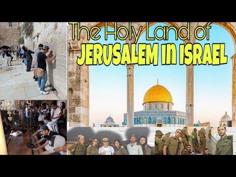 The Holy Land Of Jerusalem/ Bethlehem|Trip To Jerusalem|DIY TRAVEL TO ISRAEL