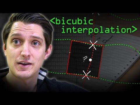 Bicubic Interpolation -