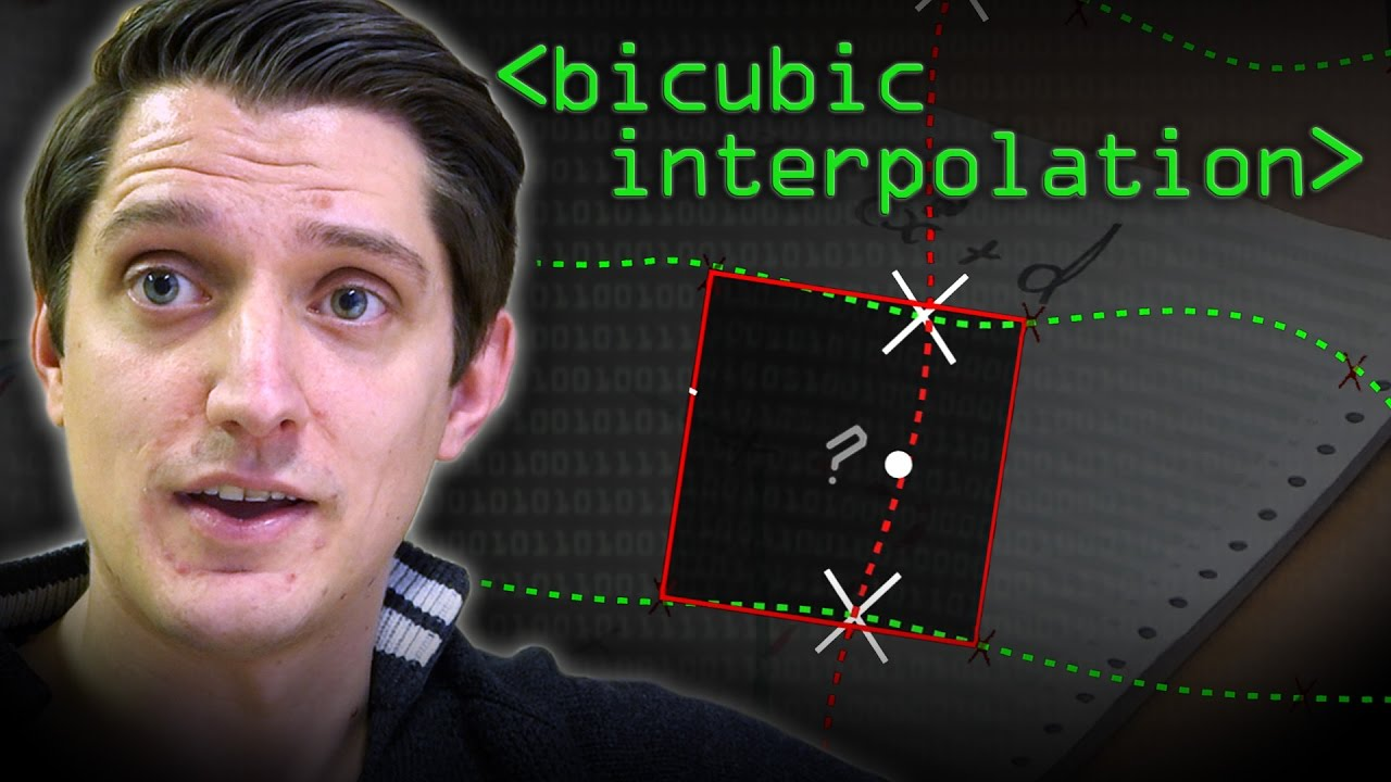 Bicubic Interpolation - Computerphile