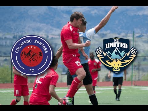 Official UPSL Match Colorado Springs FC vs. Fort Collins United