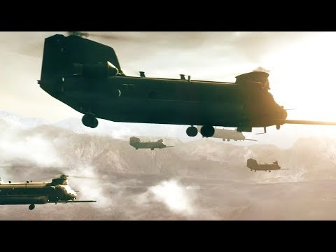 Epic Chinook Scene - Medal of Honor