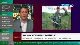 Debate, la seguridad desde el EPP hasta nuestras calles - Rafael Filizzola y Sebastián Acha