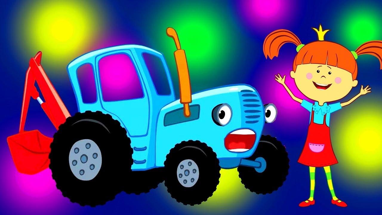 💥 ТОП-СБОРНИК! Самые зажигательные песенки - Только хиты для детей | Синий трактор и Царевна