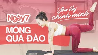 Pilates Barre 7 ngày yêu lấy chính mình | Ngày 7 | Mông quả đào | Workout #129 ♡ Hana Giang Anh