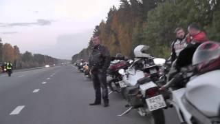 День памяти погибшим мотоциклистам 18.09.2014 г.Иркутск