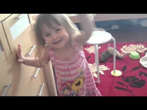 """My three year old's reaction to the new Slayer track, """"When The Stillness Comes""""."""
