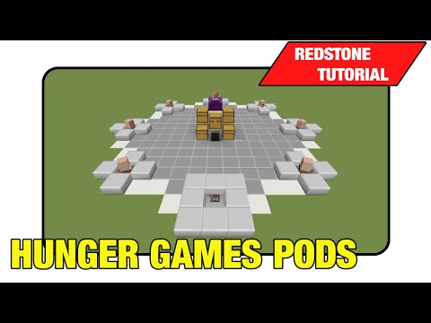 "Hunger Games Pods ""Tutorial"" (Minecraft Xbox/Ps3 TU16)"
