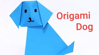 How to make paper origami Dog, easy kids origami