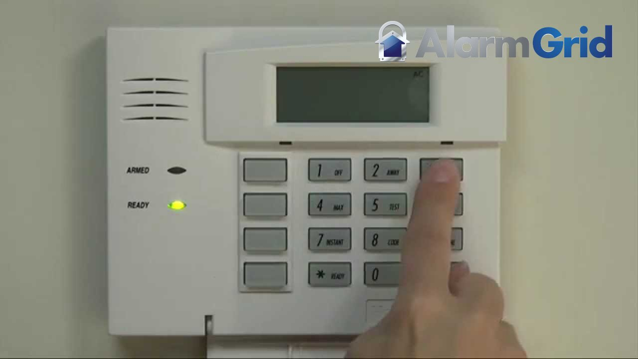 how to change alarm code on honeywell keypad