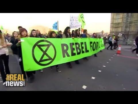 Thousands Shut Down London to Demand Urgent Action on Climate Change
