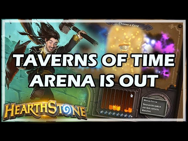 TAVERNS OF TIME ARENA IS OUT - Witchwood / Hearthstone