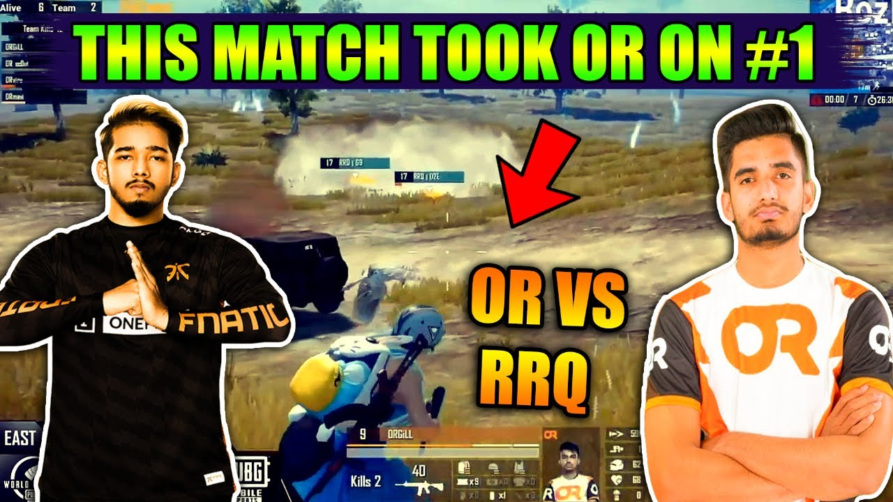 This Match Took Orange Rock To First Position In PMWL Final   OR VS RRQ   Scout And Mavi On Fire