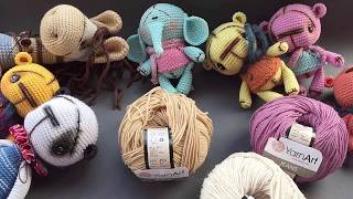 Нитки для вязания амигуруми. Обзор пряжи Джинс (jeans) от Yarn Art