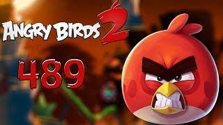 Angry Birds 2 Cobalt Plateaus Pig Bay 489 HARD LEVEL Walkthrough